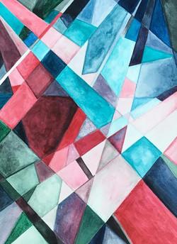 Geometric - pink green blue_edited