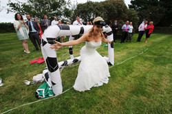 Bride Binocular football