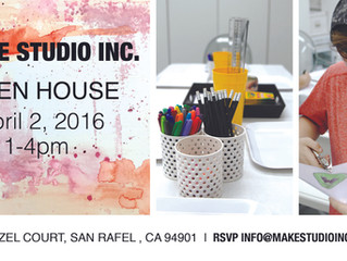 YOU'RE INVITED! | Make Studio's Spring Open House