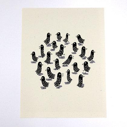PRODUCT | 'Birds' Print | Pete Houser