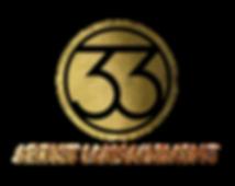 33 Logo Gold Text.webp