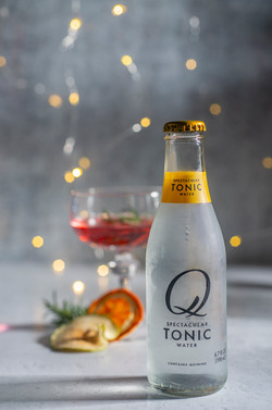 Cocktail product photography