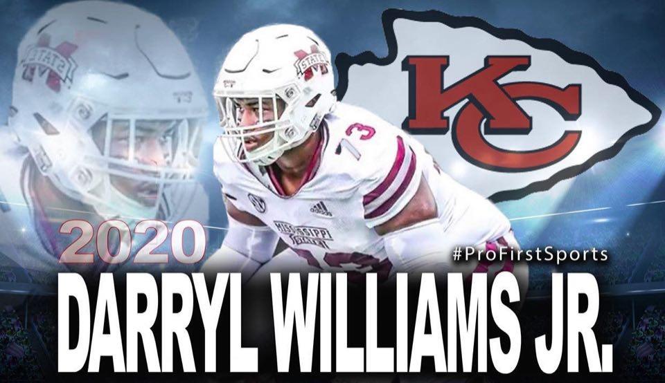 PFSM Client Darryl Williams Jr. signs lucrative deal with KC Chiefs