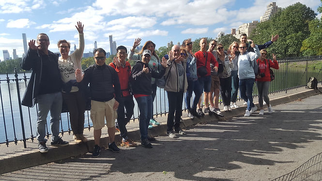 Group Tour at the Reservoir