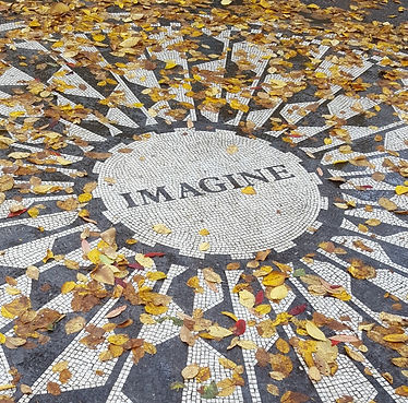 The Imagine Mosaic in Strawberry Fields