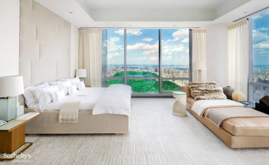 Luxury Condo Bedroom with view
