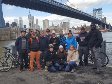 Guided Walking Tours and Bicycle Tours are the Best Way to see New York City