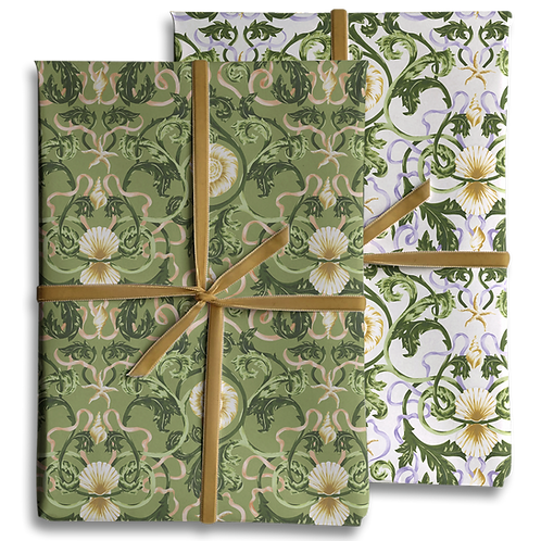 Double-sided Shell Wrapping Paper