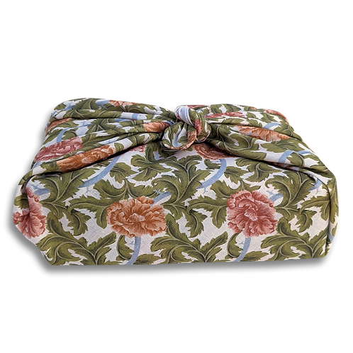 Floral Sustainable Fabric Gift Wrap