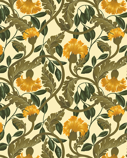 Tuppence-Collective-Vintage-Yellow-Flowe