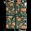 Thumbnail: Orange Fruit Leaf Wrapping Paper