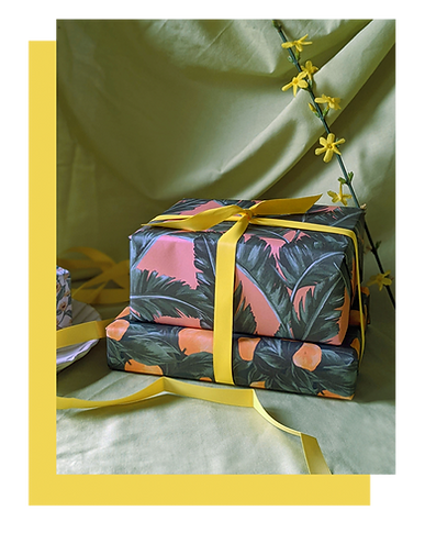Tuppence Collective botanical patterned