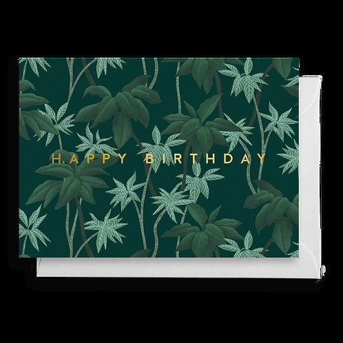 Tropical Jungle Birthday Card