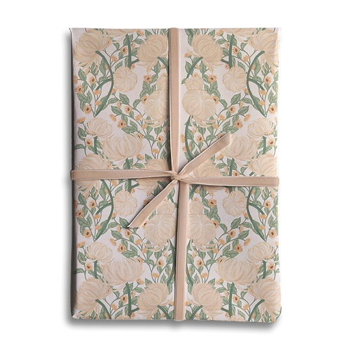 Vintage Floral Chrysanthemum  Wrapping Paper