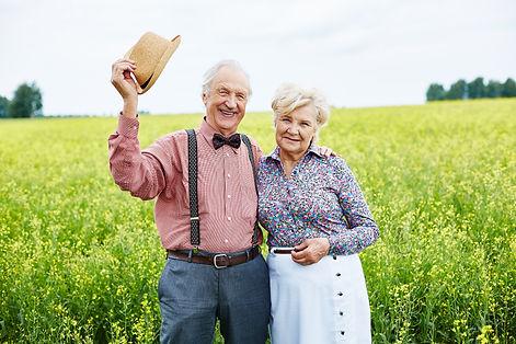 seniors-in-meadow-C8MFXKH.jpg