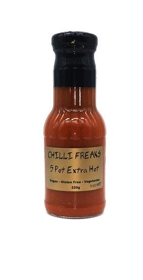 5 Pot Extra Hot Chilli Sauce