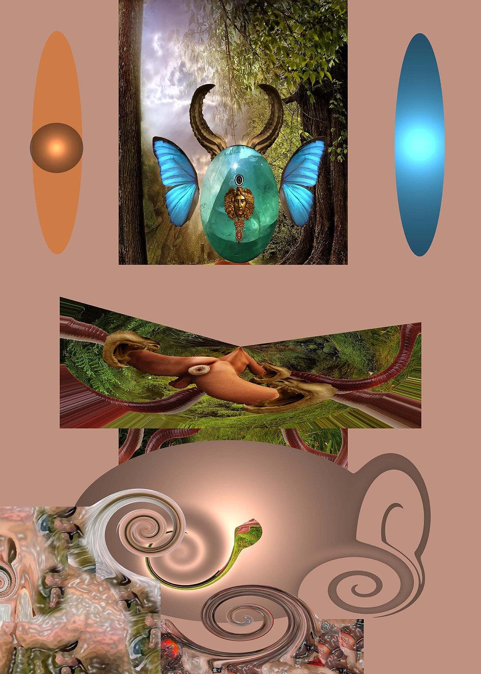The squirrel and the Grail, Maurizio Elettrico, transgenic animals, human hybrid