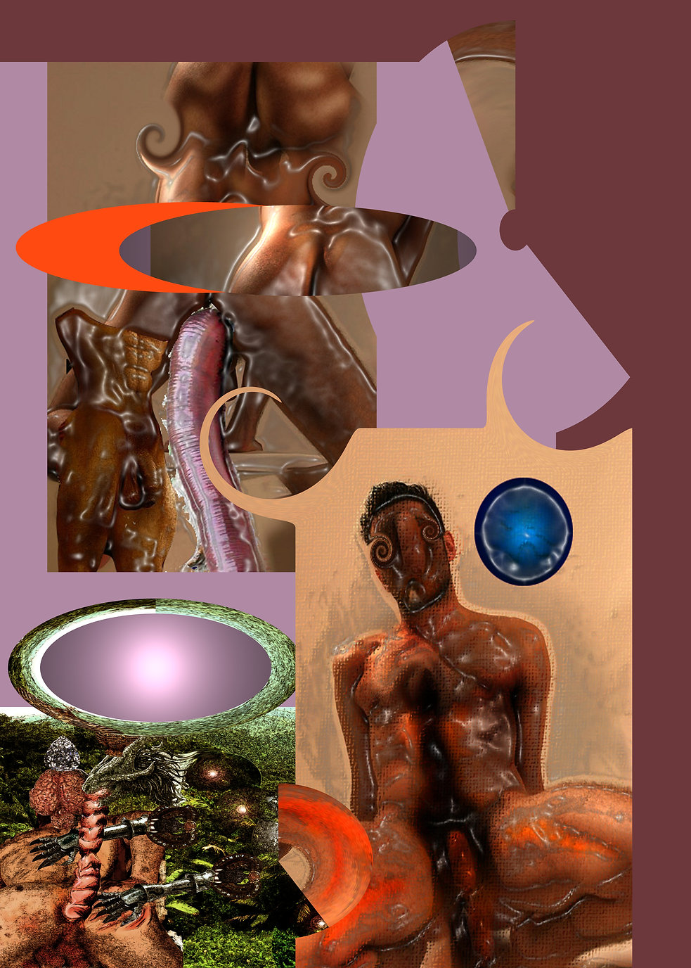 The squirrel and the Grail, Maurizio Elettrico, dark forces, sects, demons, magic, spiritual creatures, Splepix, Glostrock