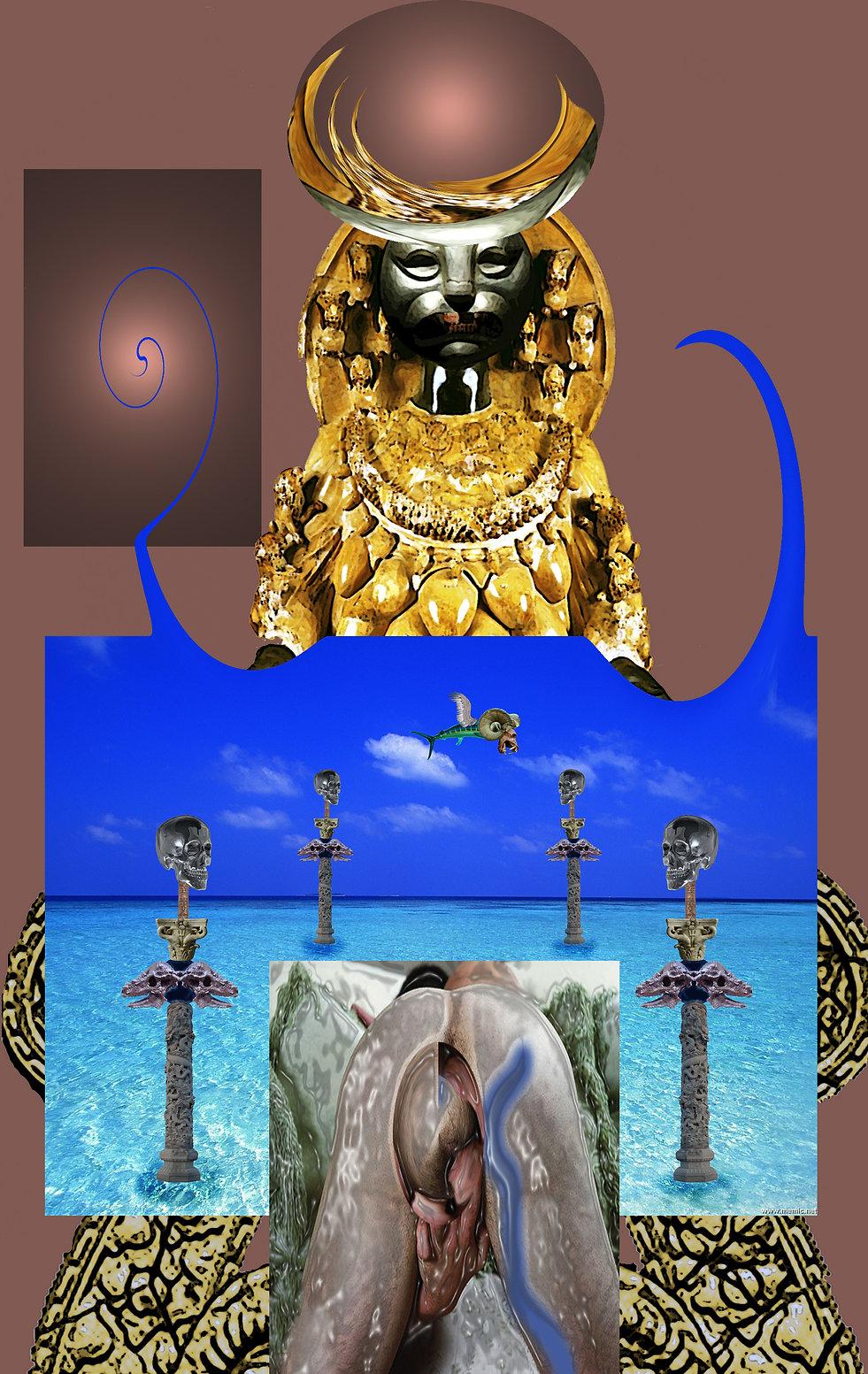 The squirrel and the Grail, Maurizio Elettrico, pagan idols, magic, spiritual creatures, demons, angels,