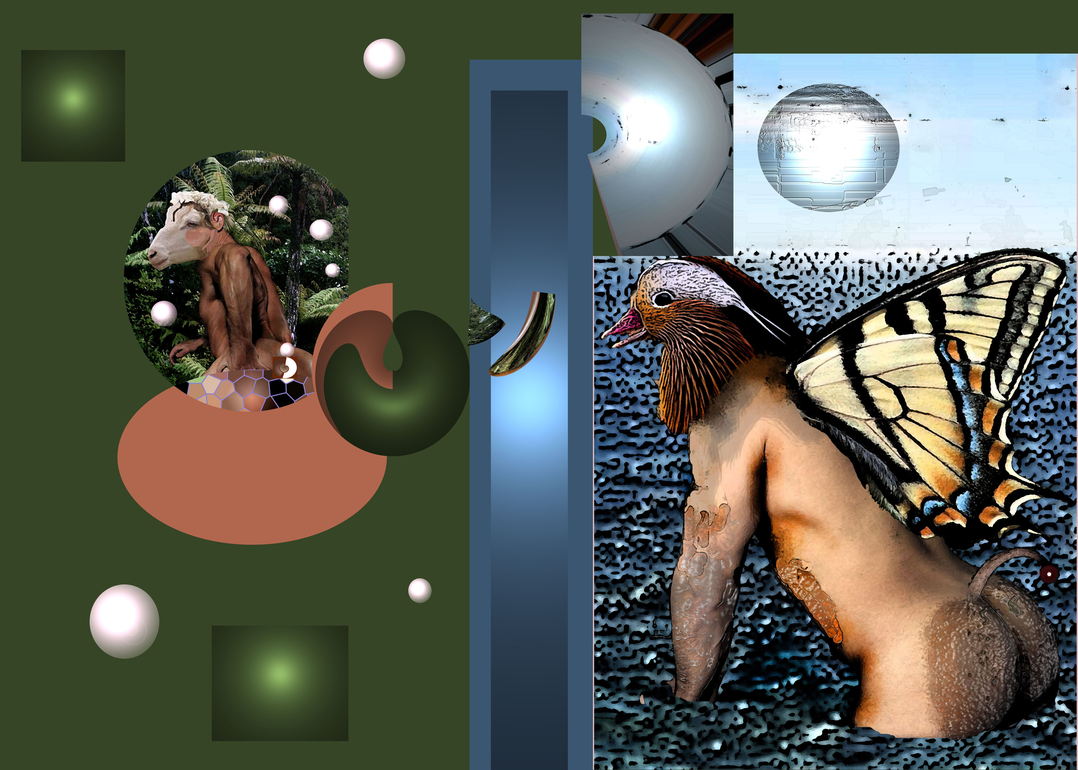 Humanoid animals of Moreaulite