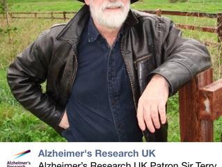 Alzheimer's Research UK Patron Sir Terry Pratchett