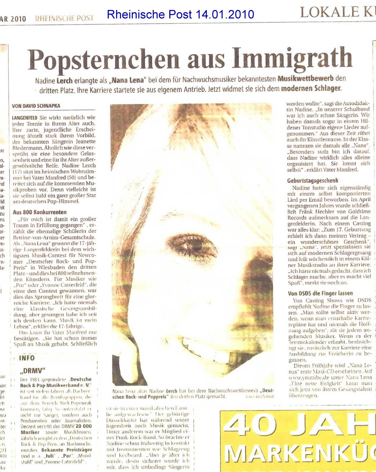 20100114 Rheinische Post