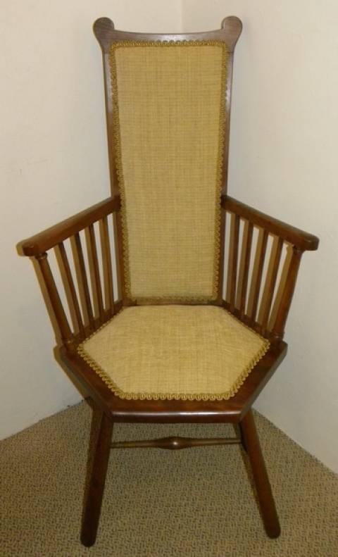 Arts & Crafts Beechwood Armchair