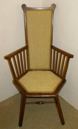 Arts & Crafts Beechwood Armchair