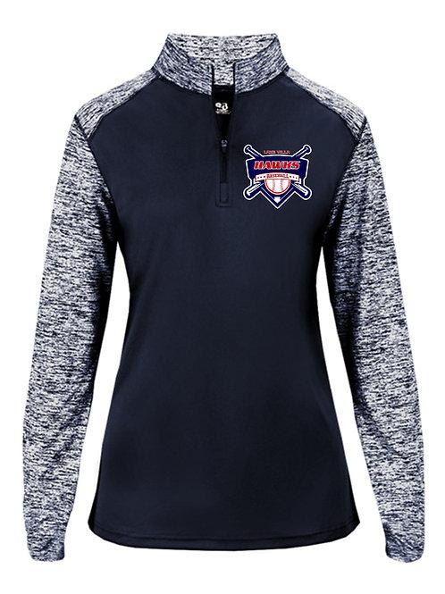 Ladies Quarter Zip Pullover (LVWQT021)
