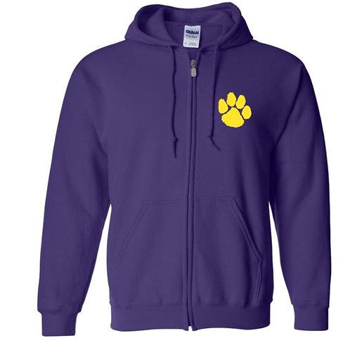 WHS Purple Full Zip Hoodie