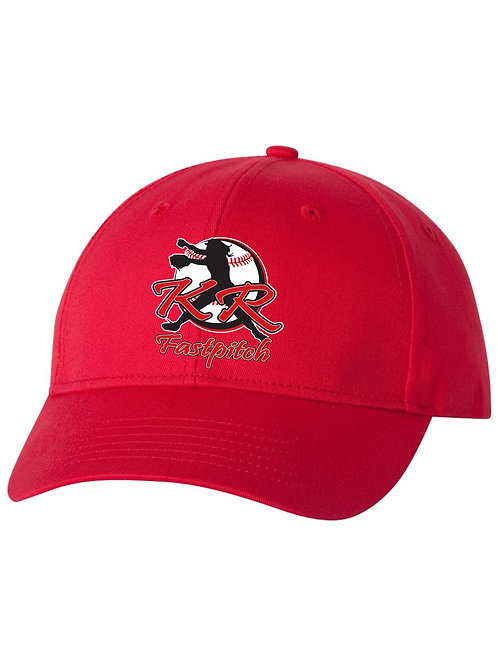 VC100 Adjustable Twill Cap with embroidered logo Available in 3 colors