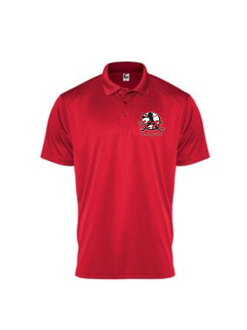 C2 Mens Polo with left chest logo available in 3 colors