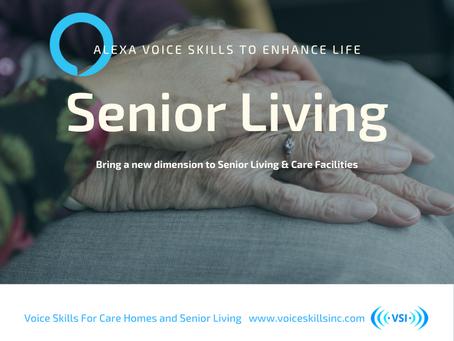 Voice Assistants For Senior Living
