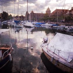 Morges Port, Switzerland