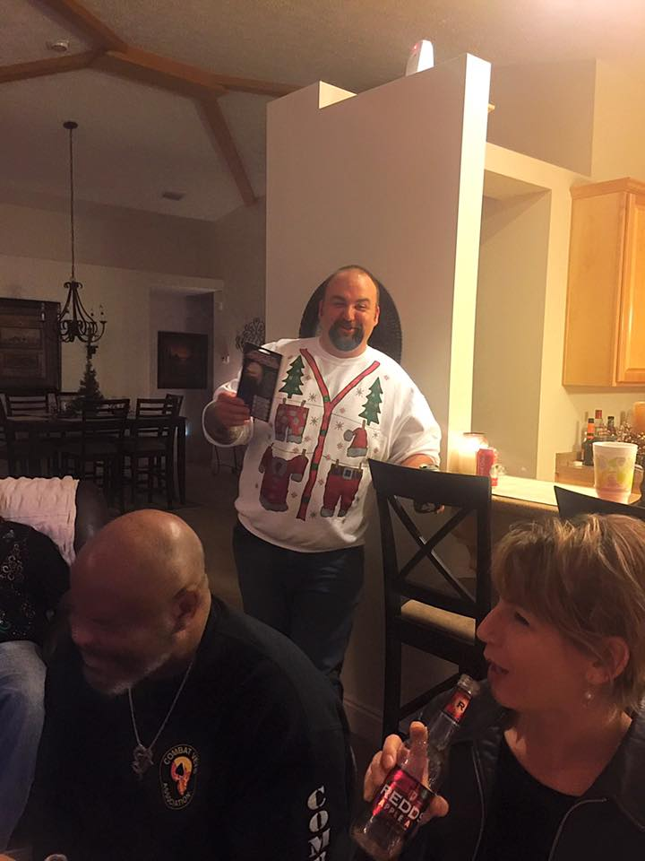 2015 X-mas party at Murricane's Hous