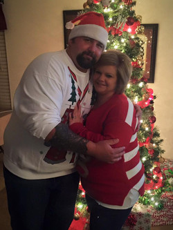 2015 X-mas party at Murricane's Hous