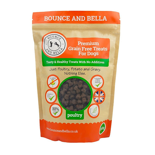 Bounce and Bella - Premium Grain Free Dog Treats