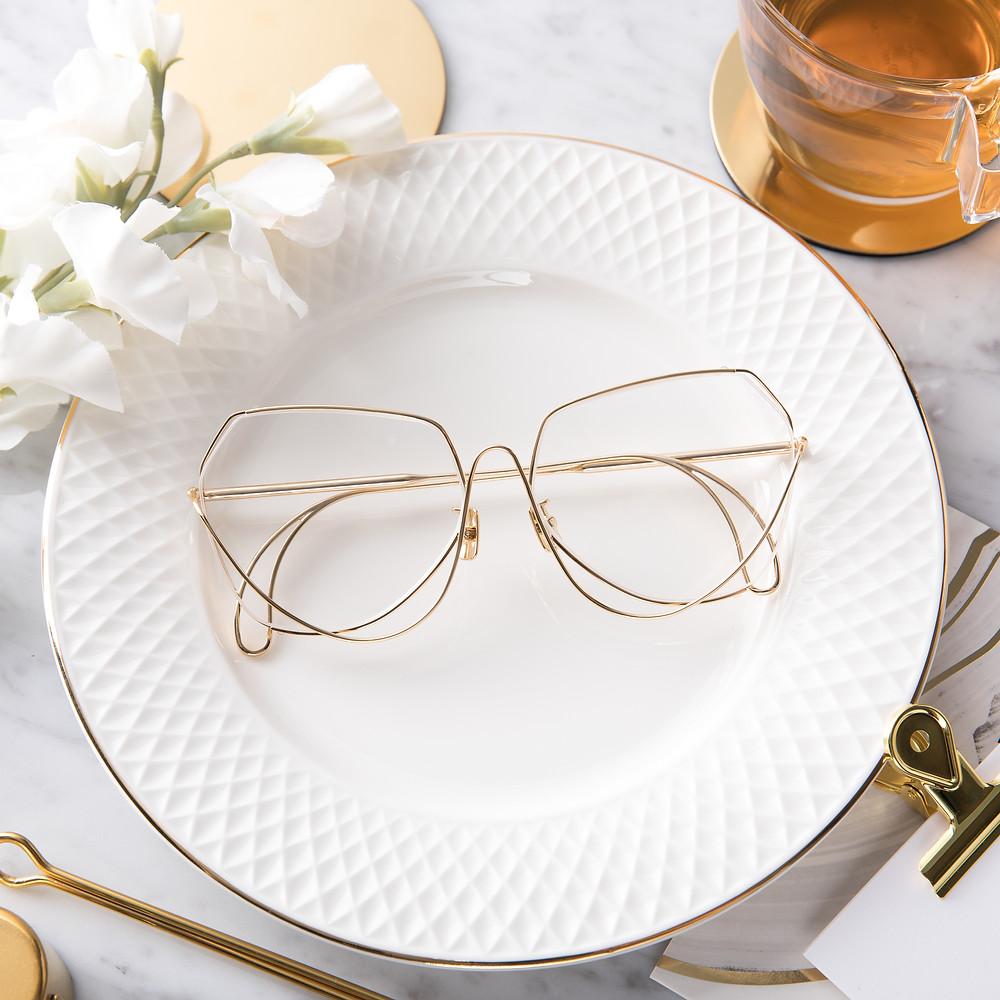 กรอบแว่นสายตา CONTEM TOS107 C.2 สีทอง