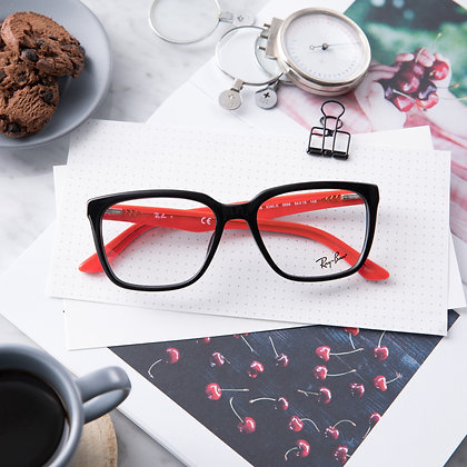 Eyeglasses RAYBAN : RB5350D - Red