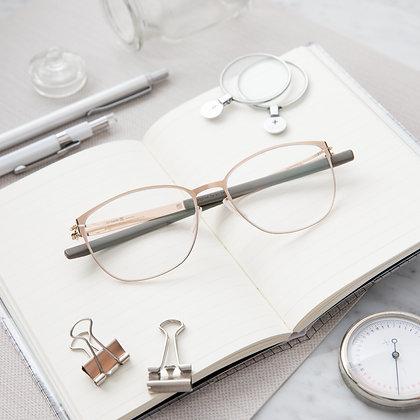 Eyeglasses IC! BERLIN : Sandy G. - Gold