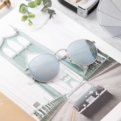 แว่นกันแดด RAYBAN : RB3447 - Silver