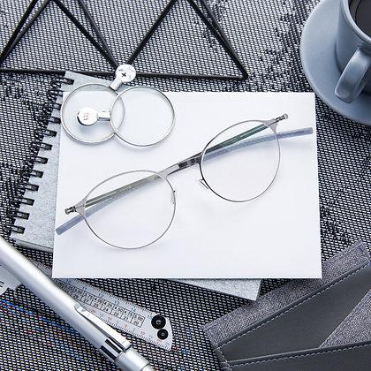 Eyeglasses IC! BERLIN : Etesians - Chrome