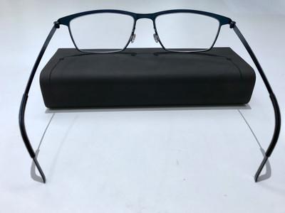 รีวิวตัดแว่นสายตา เลนส์โปรเกรสซีฟ กรอบแว่นสายตา Lindberg รุ่น Strip 9590