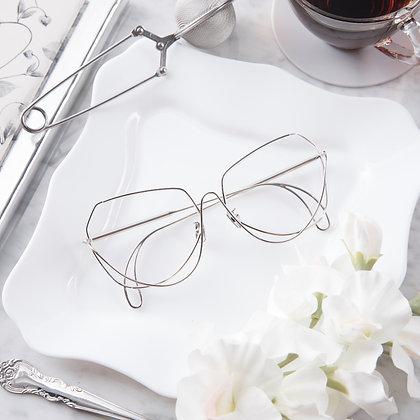 กรอบแว่นสายตา CONTEM : TOS107 - Silver