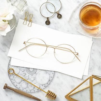 กรอบแว่นสายตา LINDBERG : RIM Dakota Gold