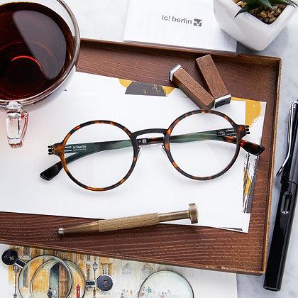 Eyeglasses IC! BERLIN : Felix L. - Magma Black