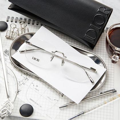 กรอบแว่นสายตา Dior : Black Suit O S3U - F000
