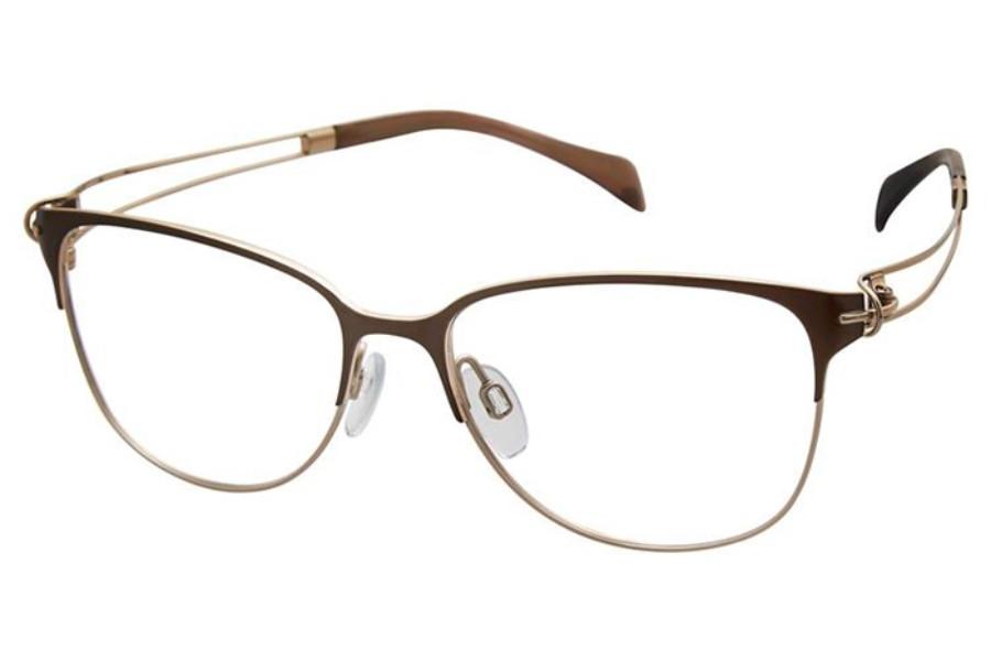กรอบแว่นสายตา Charmant กับ เลนส์โปรเกรสซีฟ