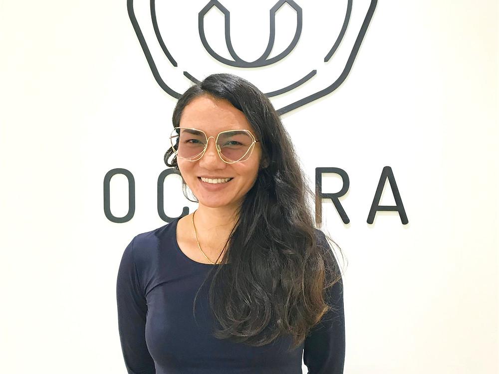 Occura รีวิว ลูกค้าตัดแว่นสายตา เลนส์ชั้นเดียว กรอบแว่นสายตา CONTEM TOS107 C.2 สีทอง