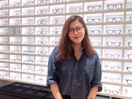 Occura รีวิว แก้ไขปัญหาสายตาสั้นและเอียง ที่ชินการใส่คอนแทคเลนส์จนตาอักเสบ ด้วยกรอบแว่น Eyevan7285